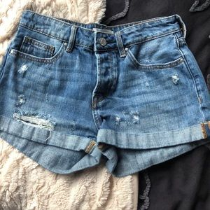 PacSun Denim Girlfriend Shorts